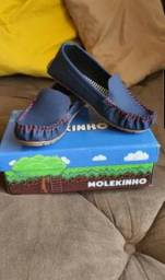 Sapato infantil masculino estilo mocassins