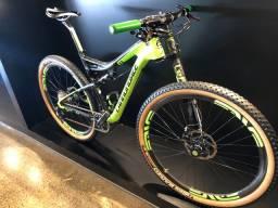 Bicicleta cannondale scalpel carbon team tam 19 semi nova