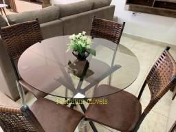 Conjunto de mesa 4 cadeiras