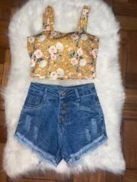 Short, cropped, saias, vestido e calças