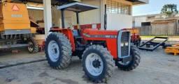 Trator Agrícola MF Massey Ferguson 275, 4x4, Ano 2000, 3 alavancas