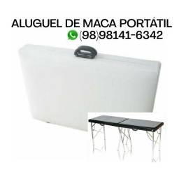 Aluguel de Maca Portátil