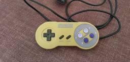 Controle super Nintendo original.