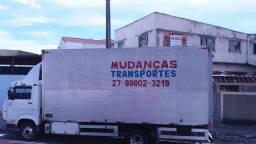 Caminhão de mudança na rota Juiz de fora Uberlandia Vitoria EWS
