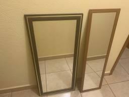 Vendo 2 espelhos