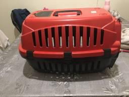 Caixa para transporte vermelha