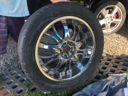 4 rodas/pneus aro 20