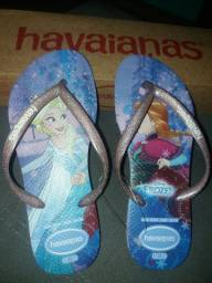 Chinelo havaianas Frozen
