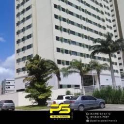 Apartamento com 2 dormitórios à venda, 59 m² por R$ 270.000 - Água Fria - João Pessoa/PB