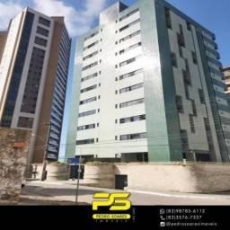 Apartamento com 3 dormitórios à venda, 139 m² por R$ 410.000 - Miramar - João Pessoa/PB