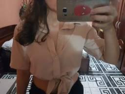Blusa de botão