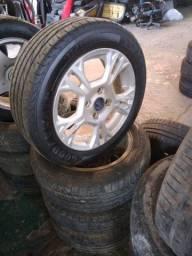 Conjunto de Rodas Aro 15' - Ford New Fiesta