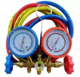 Manômetro Split e Refrigeração R 12/22/134/404a