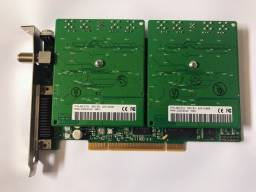 Placa PCI (tuner) Captura de Áudio Audioscience Asi8921