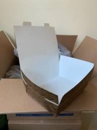 Caixas de papel para alimentos