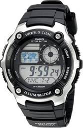 Relógio digital Casio AE-2100W-1AVCF 200 metros importado dos Estados Unidos na caixa