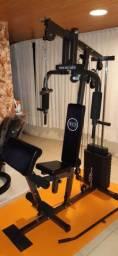 Estação (Equipamento) de musculação WTC com 80 kg