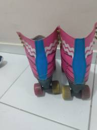 Patins kuad roller tradicional sou luna