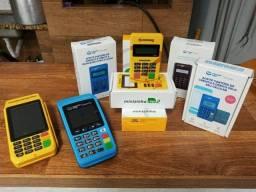 Maquininhas de cartão PagSeguro e Mercado Pago
