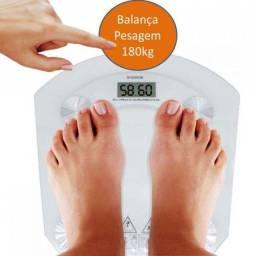 Balança de banheiro personal vidro 180kg