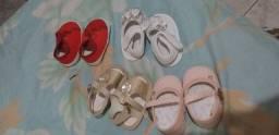 4 Sapatinhos de menina
