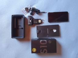 Samsung S10E seminovo na caixa com NF.