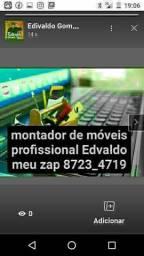 montador de móveis Edvaldo