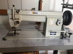 Máquina de costura industrial usada