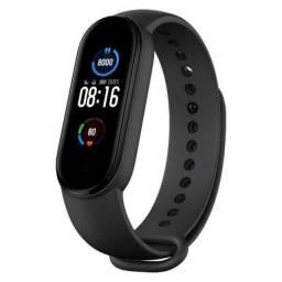 Pulseira Relógio Smartwatch Xiaomi Miband 5 Versão Global + Película