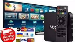 TV Box MX-Q PRO 8GB Ram - 64GB memória interna - PROMOÇÃO 50% OFF