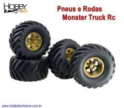 Rodas e Pneus Monster Truck Rc Hpi - Novo