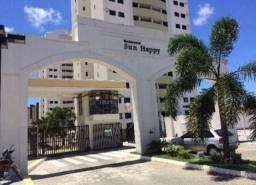 Condomínio Sun Happy: Apto de 3/4 84m² na Abel Cabral, Nova Parnamirim RN