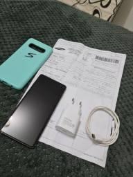 Samsung s10 plus 512gb 8 de ram cerâmica top