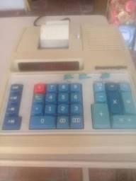 Calculadora com bobina Burroughs