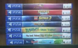 Jogos usados de PS4