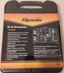 Kit Ferramentas Sparta 129 Peças 13564 - com Maleta