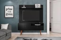 Rack + Painel Topázio Patrimar, ideal para TVs até 46 Polegadas - Entrega Imediata;