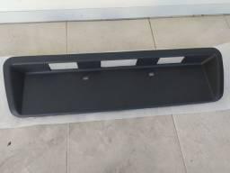 Moldura Placa Traseira Hilux Paralela Segunda Linha Nova
