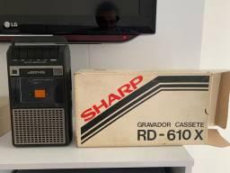 Vendo gravador reprodutor fita K7