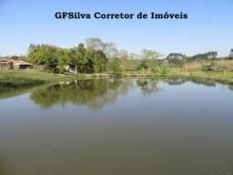 Psicultura ou pesqueiro 30.000 m2 ( 4 Lagos ) Casa e salão Ref. 425 Silva Corretor