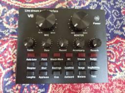 Interface de áudio V8