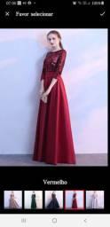 Vestido festa vermelho tam44