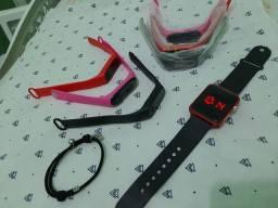 Relógio pulso de pulso e pulseira