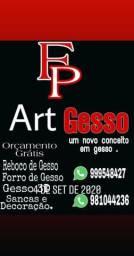 REBOCO DE GESSO 35 reais