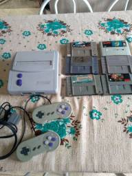 Super Nintendo 300 reais