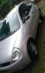 Vendo carro prata Ka 2002 com ar condicionado