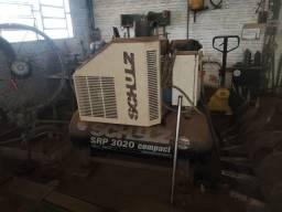 Compressor Parafuso 20hp Schulz