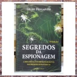 Livro: Segredos da Espionagem Gelio Fregapani