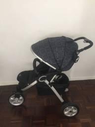 Carrinho de bebê Burigotto w3 Netuno - 3 rodas em ótimo estado de conservação