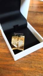 Aliança moeda antiga garantia eterna como ouro